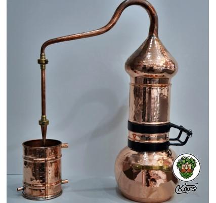 Аламбик с откидной колонной паянный3 литра