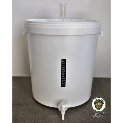 Бродильная пищевая емкость 33 литра, комплект MEDIUM