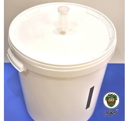 Бражная емкость с гидрозатвором и термометром 33 литра (комплект) 08104