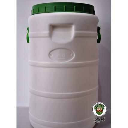 Бочка пластиковая длябраги 40 литров