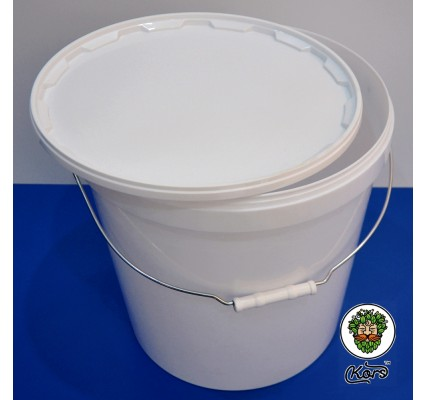 Ведро пластиковое белое 20,5 литров (бродильная емкость)