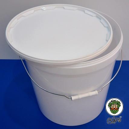 Ведро пищевое белое 20,5 литров