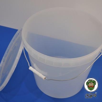 Ведро пищевое прозрачное 20,5 литров