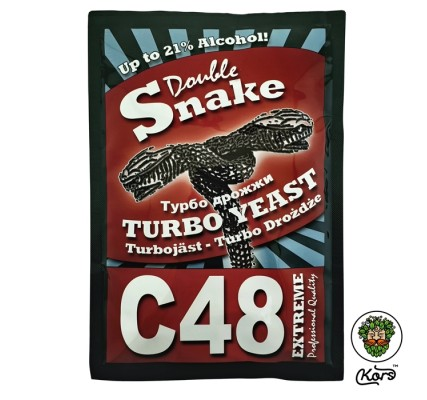 Дрожжи спиртовые Double Snake C48
