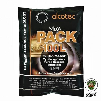 Спиртовые турбо дрожжи Alcotec Mega Pack 100L