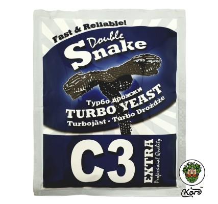 Спиртовые турбо дрожжи Double Snake C3