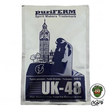 Турбо дрожжи Puriferm UK-48
