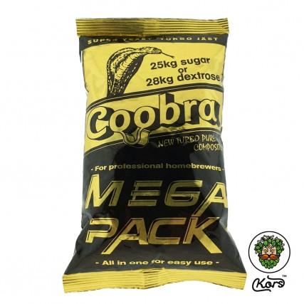 Сухие турбо дрожжи Coobra Mega Pack 100L