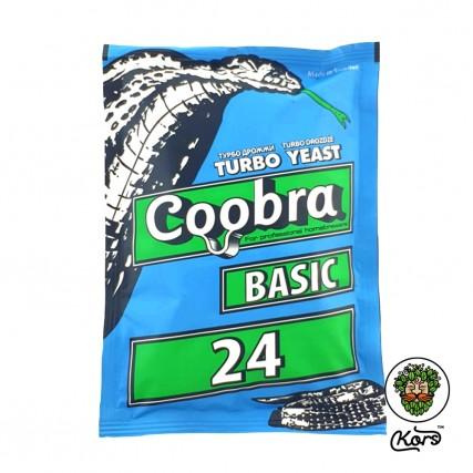 Спиртовые турбо дрожжи Coobra 24 Basic