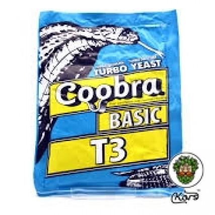 Сухие турбо дрожжи Coobra Т3 Basic