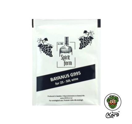 Винные дрожжи Spirit Ferm wino bayanus G995