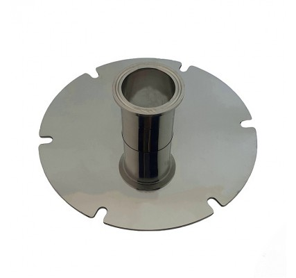 Основание для установки колоны на перегонный Куб для самогонного аппарата  (кламп)