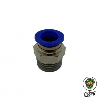 Пуш фитинг 12 мм. ½ наружная резьба